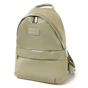 Round backpack S-BIMAT ALMOND GREEN