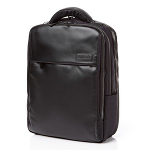 "LAPTOP BACKPACK L 15"" BLACK"