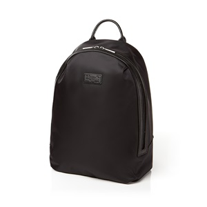ROUND ZIP BACKPACK M BLACK