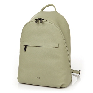 ROUND BACKPACK M ALMOND GREEN