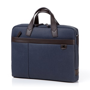 BRILLO 2 BRIEFCASE NAVY