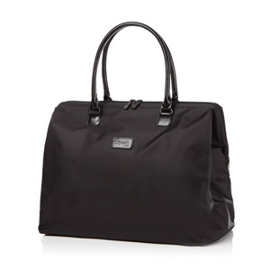 LADY PLUME WEEKEND BAG M FL BLACK