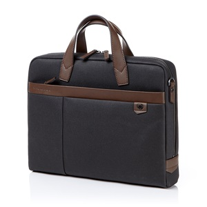 BRILLO 2 BRIEFCASE GREY