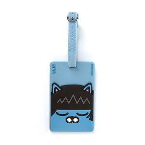 NEO LUGGAGE TAG BABY BLUE