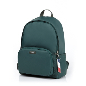 "ROUND LAPTOP BACKPACK 13"" FOREST GREEN"