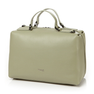 SQUARE BOWLING BAG M ALMOND GREEN