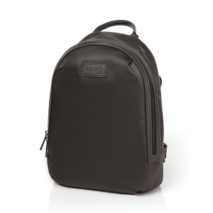 ROUND ZIP BACKPACK S ANTHRACITE GREY