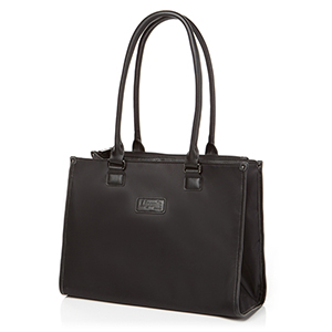 SQUARE TOTE BAG S BLACK