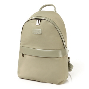 Round backpack M-BIMAT ALMOND GREEN
