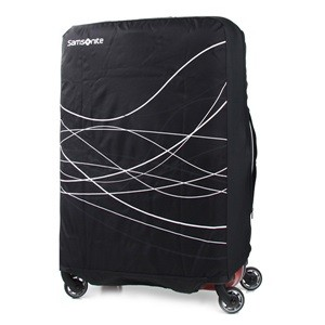 FOLDABLE LUGGAGE COVER L BLACK