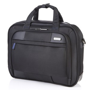 LAPTOP BRIEFCASE M BLACK/BLUE