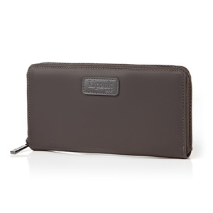 ZIP AROUND WALLET ANTHRACITE GREY