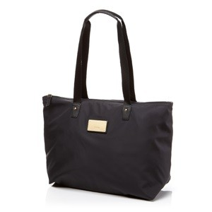 FOLDABLE TOTE BLACK