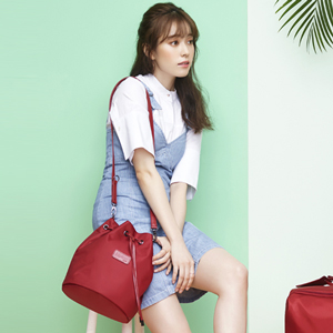 BUCKET BAG S RUBY