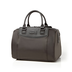 BARREL BAG M ANTHRACITE GREY