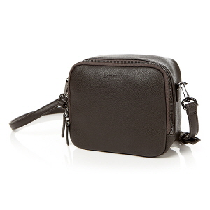 MINI SQUARE CROSS BAG ANTHRACITE GREY