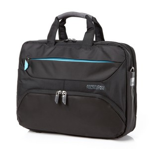 Laptop Briefcase BLACK/BLUE