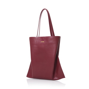 VERTICAL SHOPPER S BURGUNDY
