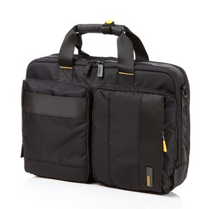 Laptop Briefcase BLACK/YELLOW