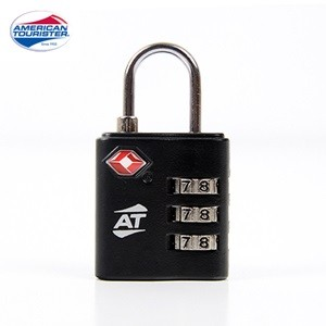 TSA 3-DIAL COMBINATION LOCK BLACK