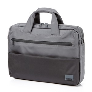 Laptop Briefcase M GREY/BLACK