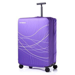FOLDABLE LUGGAGE COVER L PURPLE/LAVENDER