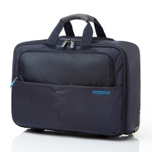 ROLLING TOTE (iPad) NAVY
