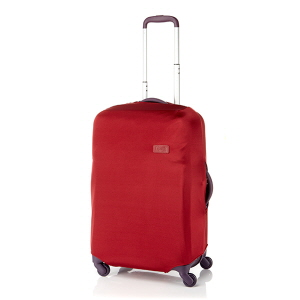 LUGGAGE COVER M RUBY