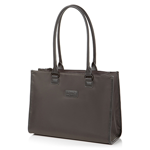 SQUARE TOTE BAG S ANTHRACITE GREY