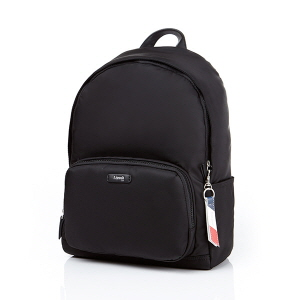"ROUND LAPTOP BACKPACK 13"" BLACK"