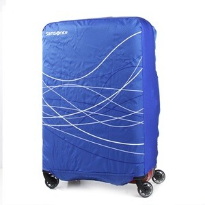 FOLDABLE LUGGAGE COVER M BLUE