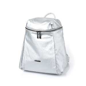 SIMPLE BACKPACK SILVER