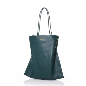 VERTICAL SHOPPER L DARK GREEN