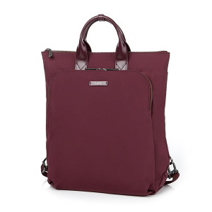 BUSINESS BACKPACK WINE RED