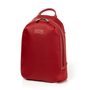 ROUND ZIP BACKPACK S RUBY