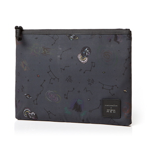 GLEHN CLUTCH GALAXY DARK BLACK