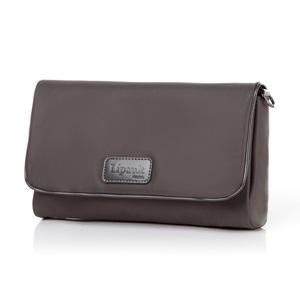 LADY PLUME CLUTCH BAG S ANTHRACITE GREY