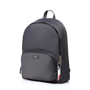 "ROUND LAPTOP BACKPACK 13"" ANTHRACITE GREY"
